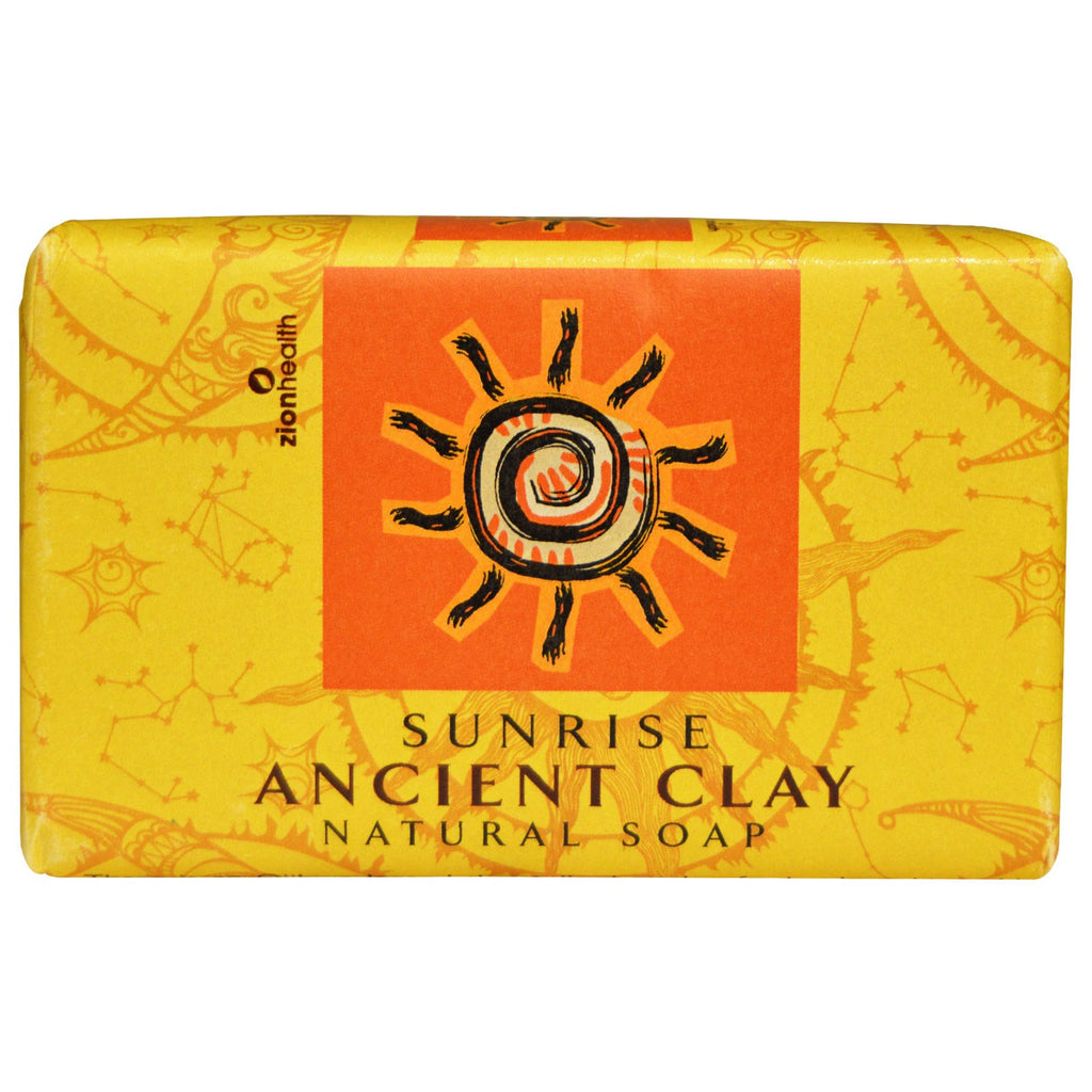 ANCIENT CLAY SOAP SUNRISE (ZION HEALTH)