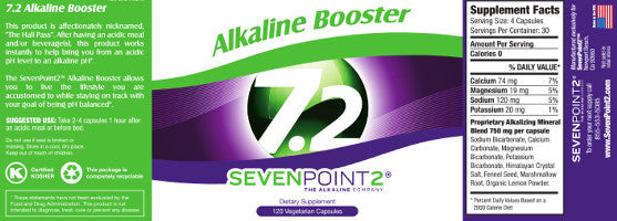 Alkalike Booster - Alkalize your Body 7.2