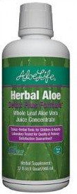 Herbal Aloe Whole Leaf Aloe Vera Juice (Aloe Life) 32 fl oz