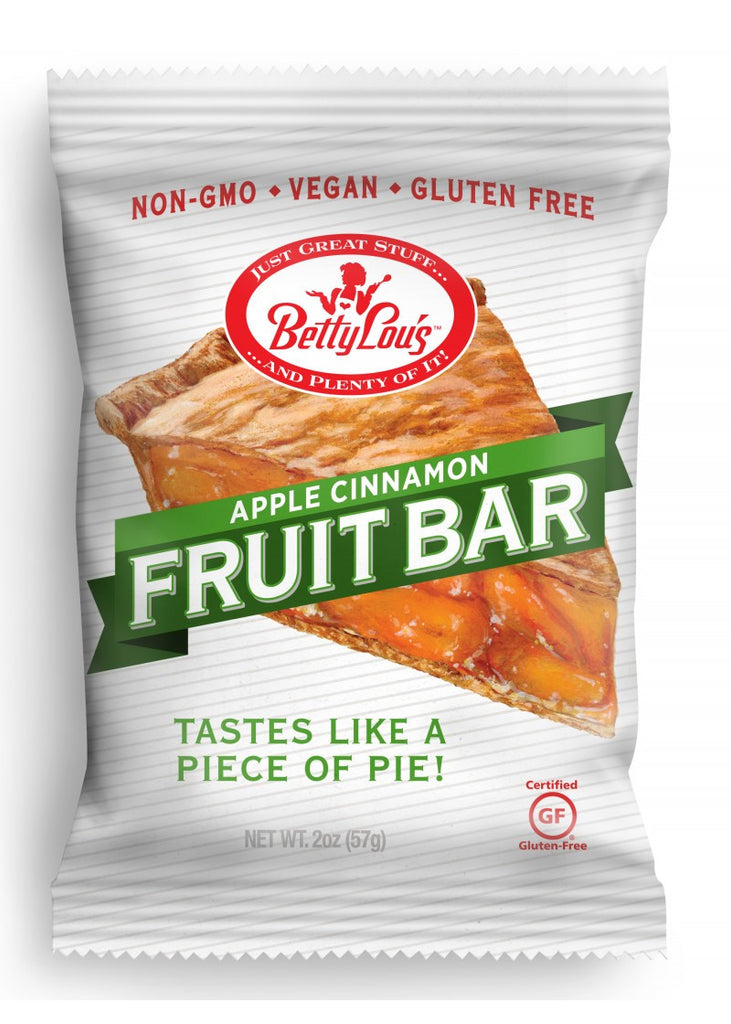 Apple Cinnamon Fruit Bars  (Betty Lous)