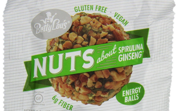 Spirulina/ Vegan Ginseng Balls (Betty Lous)