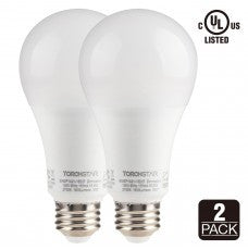 A21 Led Bulb 2 Pack Torch Star