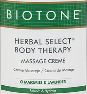 Biotone Herbal Select Body Massage Cream