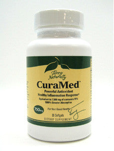 CuraMed 750mg 30 sgels or 375mg 60 sgels