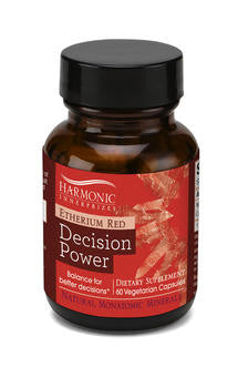 Etherium Red - Decision Power mineral supplement 300mg