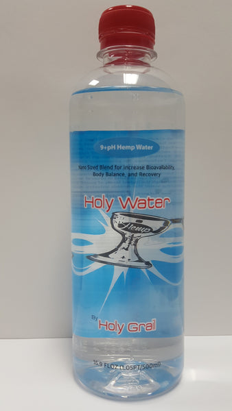 Holy Water 9.0 PH Hemp water