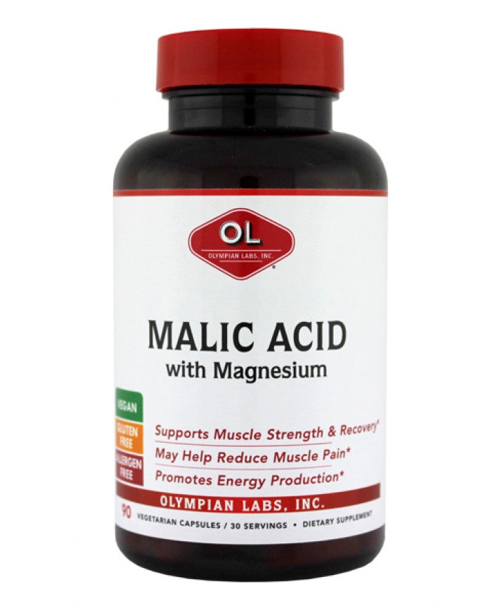 MALIC ACID with Magnesium (Olympian Labs) 90 Caps