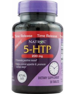 5-HTP 200 mg TIME RELEASE (NATROL) 30 Tabs
