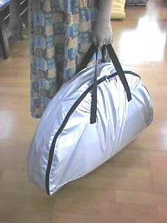 Carrying Bag for Relax sauna from sit up and lie down