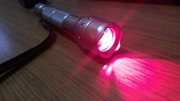 photon light shaker led red light
