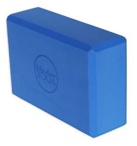 4 Inch Foam Yoga Block (Blue)
