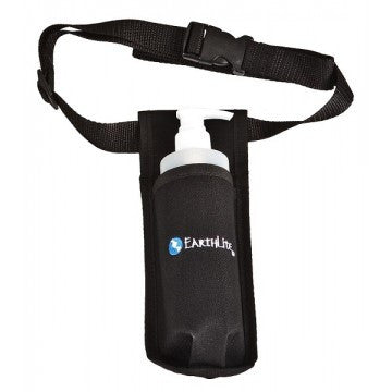 Holster With Pump Bottle- Single or double (Earthlite)