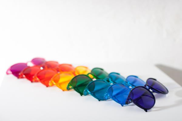 Color Therapy Glasses (any colors)