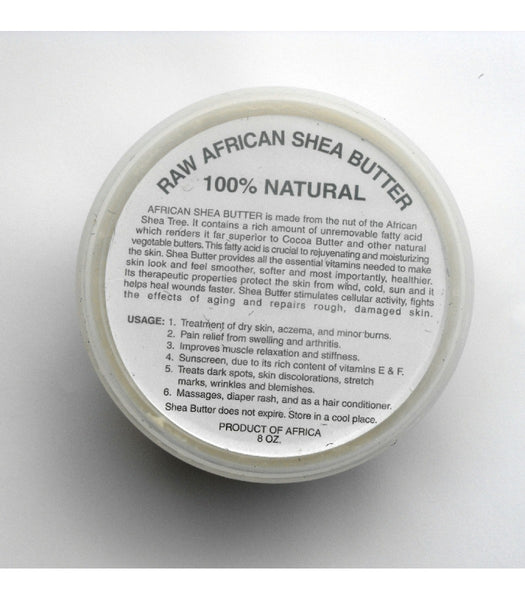 white shea butter african