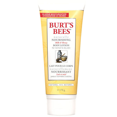 Burt's Bees Naturally Nourishing Milk & Honey Body Lotion (170g)