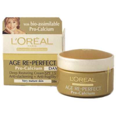 L'Oreal Age Dermo Expertise Re-Perfect with Pro-Calcium Day Cream (50ml)