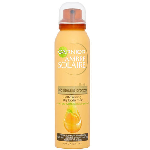 Garnier Ambre Solaire No Streak Bronzer Light Mist (150ml)
