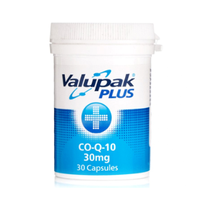 Valupak Co-Q-10 30mg (30 Capsules)