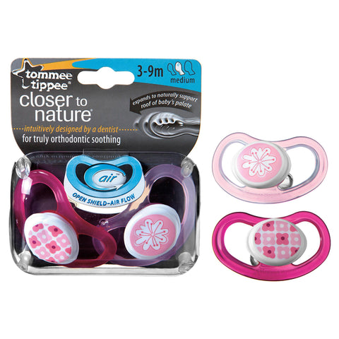 Tommee Tippee Closer To Nature C-air Soother Medium (3-9 Months)