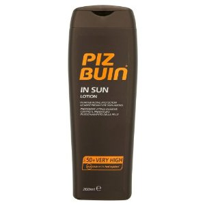 Piz Buin In Sun Moisturising Sun Lotion SPF 50 (200ml)