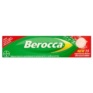 Berocca Berry Flavour Effervescent Tablets (15 Tablets)