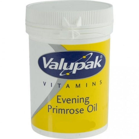 Valupak Evening Primrose Oil 500mg (30 Capsules)