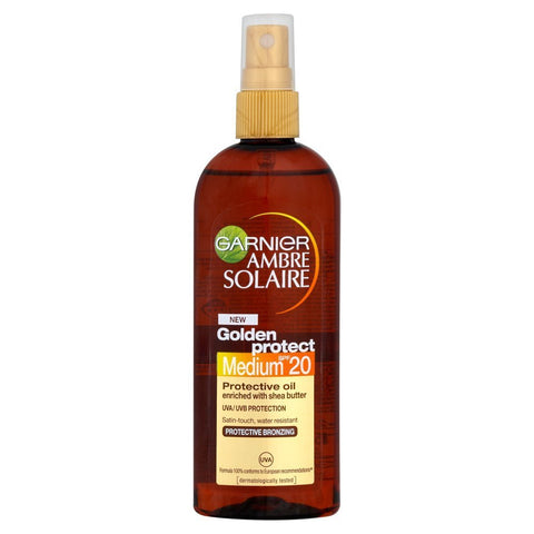 Garnier Ambre Solaire Golden Protect Oil SPF 20 (150ml)