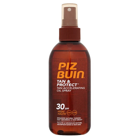 Piz Buin Tan And Protect Accelerating Oil Spray SPF 30 (150ml)