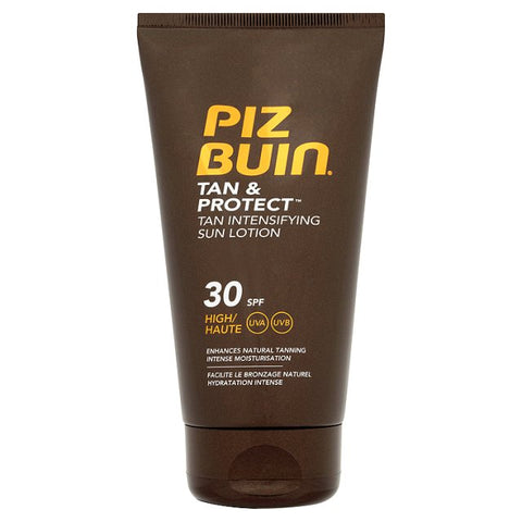 Piz Buin Tan And Protect Tan Intensifying Sun Lotion SPF 30 (150ml)