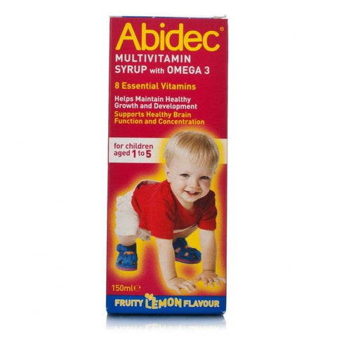 Abidec Multivitamin Syrup with Omega 3 (150ml)