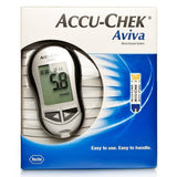 Accu-Chek Aviva Blood Glucose Monitor (One Unit)