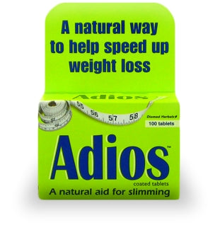 Adios Herbal Slimming Tablets (100 Tablets)