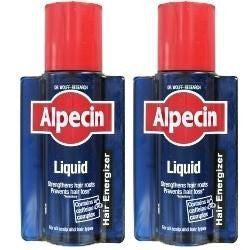 Alpecin Liquid - For use AFTER shampooing - TWIN PACK (2 x 200ml Bottle)