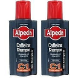 Alpecin Caffeine Hair Energizer Shampoo C1 - TWIN PACK (2 x 250ml Bottle)
