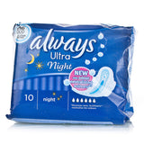 Always Ultra Night With Wings (10 Towels)