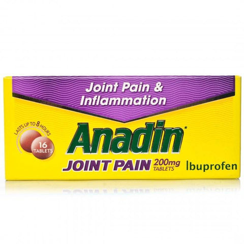 Anadin Joint Pain 200mg Tablets (16 Tablets)