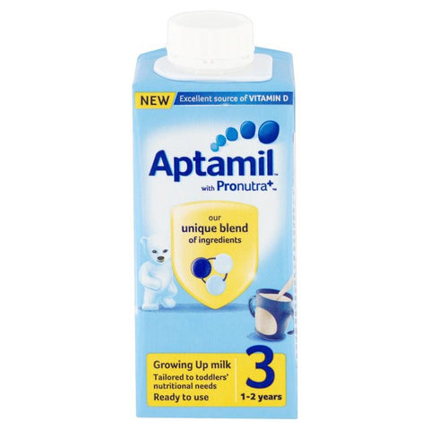 Aptamil Growing Up Ready To Use Milk 1 -2 Years (200ml)