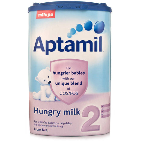 Aptamil 2 Hungry Milk Powder 0-12 Months (900g Tub)