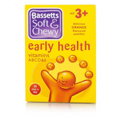 Bassetts Soft & Chewy Early Health Vitamins (30 Soft Pastilles)