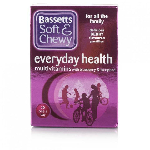 Bassetts Soft & Chewy Everyday Multivitamins (30 Pastilles)