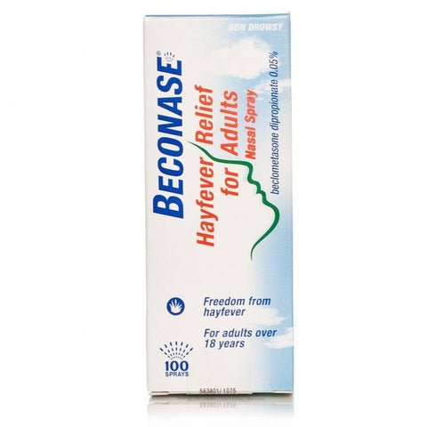 Beconase Hayfever Relief Nasal Spray for Adults (100 Sprays)