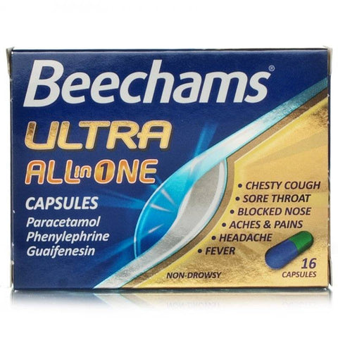 Beechams Ultra All In One Capsules (16 Capsules)