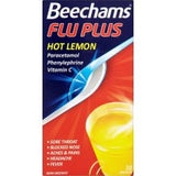 Beechams Flu Plus Hot Lemon Sachets (10 Sachets)