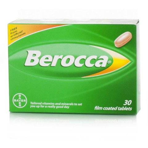Berocca Film Coated Tablets (30 Tablets)