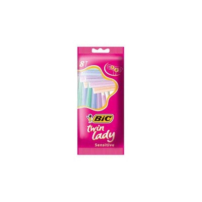Bic Twin Lady Disposable Razors (8 Razors)