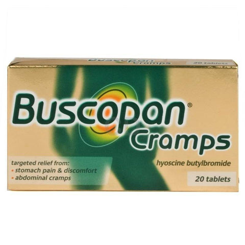 Buscopan Cramps Tablets (20 Tablets)