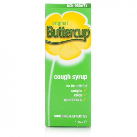 Buttercup Cough Syrup Original (150ml Bottle)