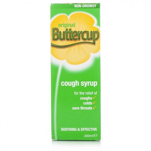 Buttercup Cough Syrup Original (200ml Bottle)