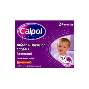 Calpol Infant Suspension Sachets (12 Sachets)