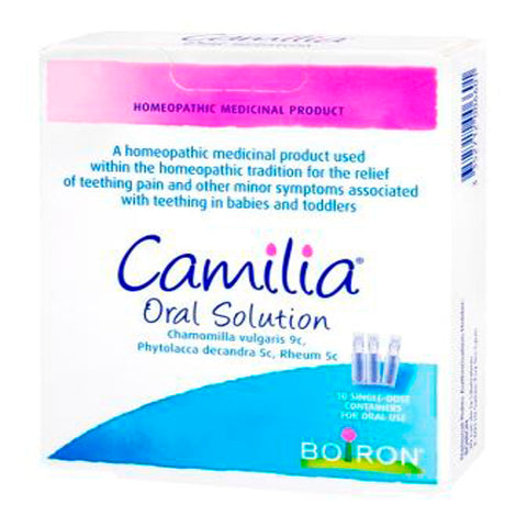 Camilia Teething Oral Solution (10 Single Dose Units)